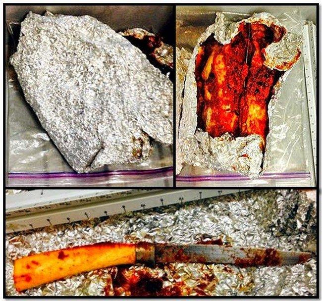 knife in enchilada