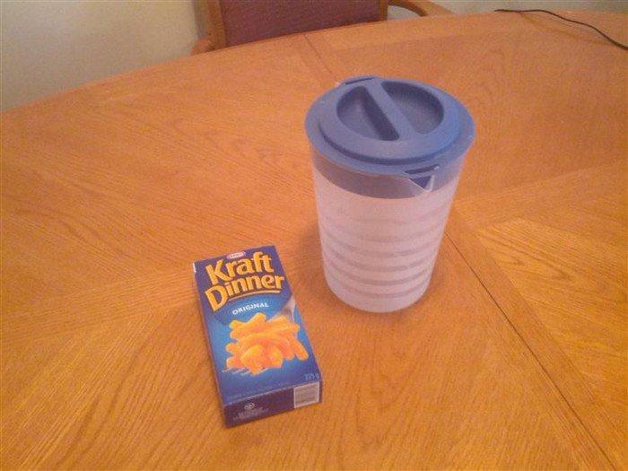kraft dinner jug