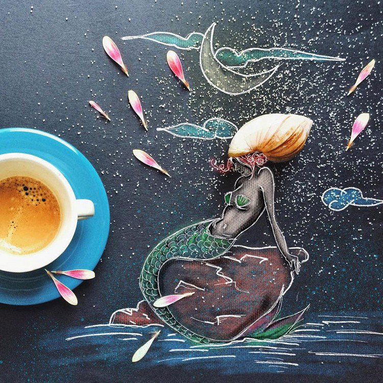 mermaid coffee