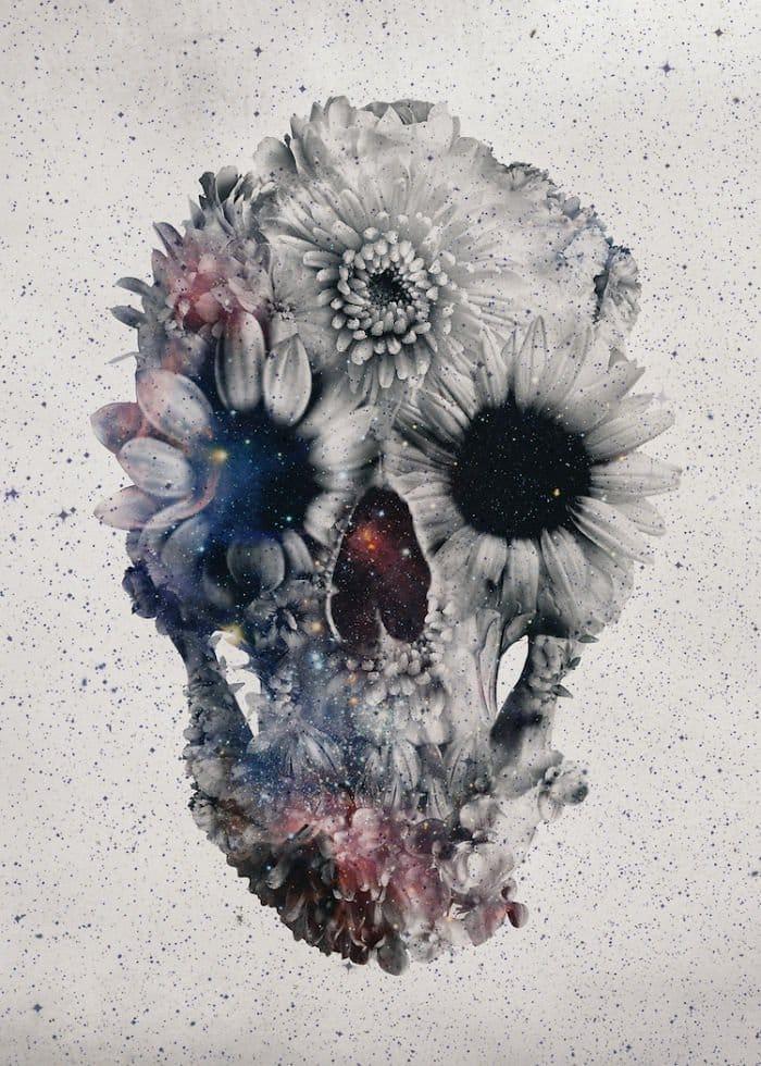 message-skull