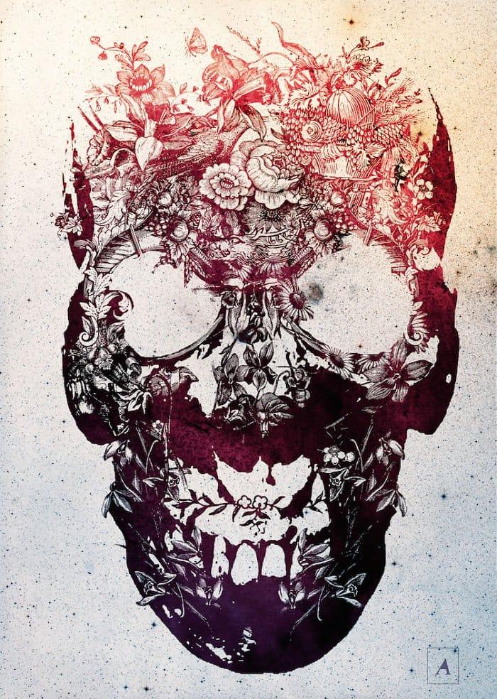 message-skulls