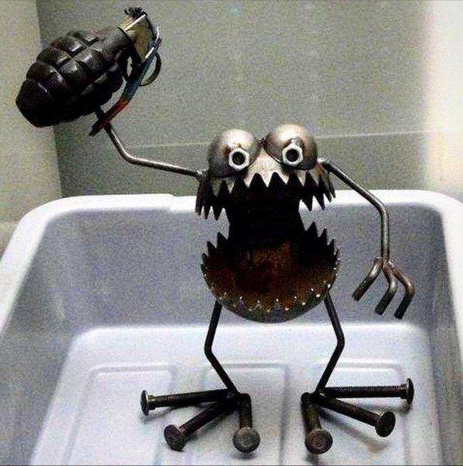 metal monster grenade