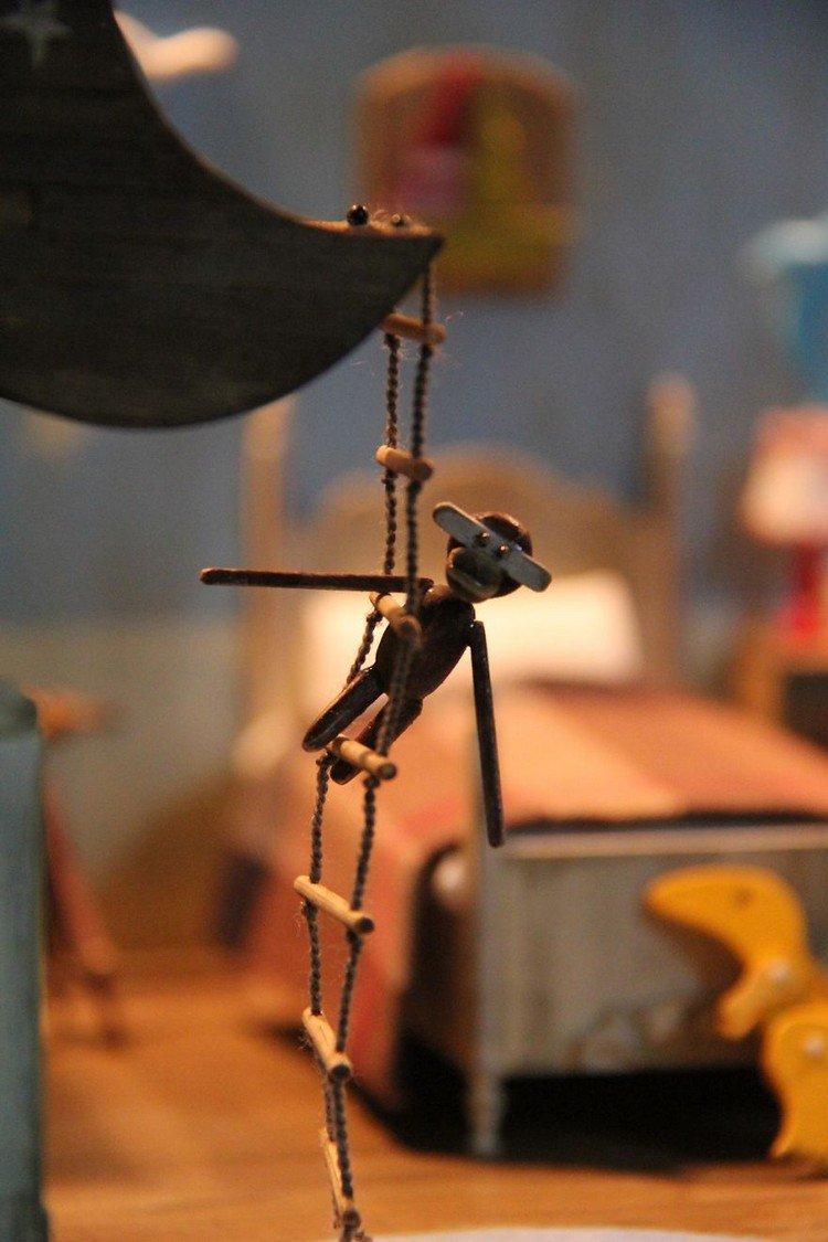 mini monkey ladder