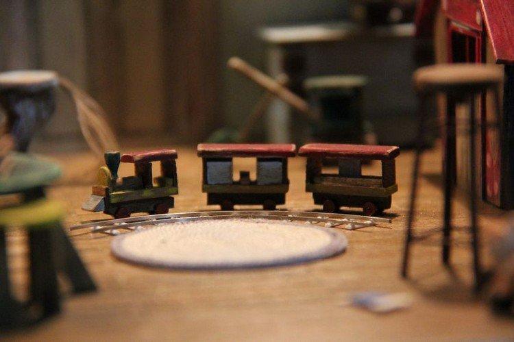 mini train set