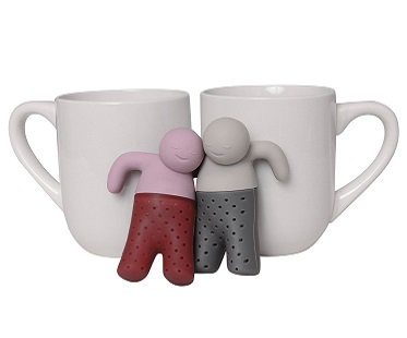 mr and mrs tea infuser pair