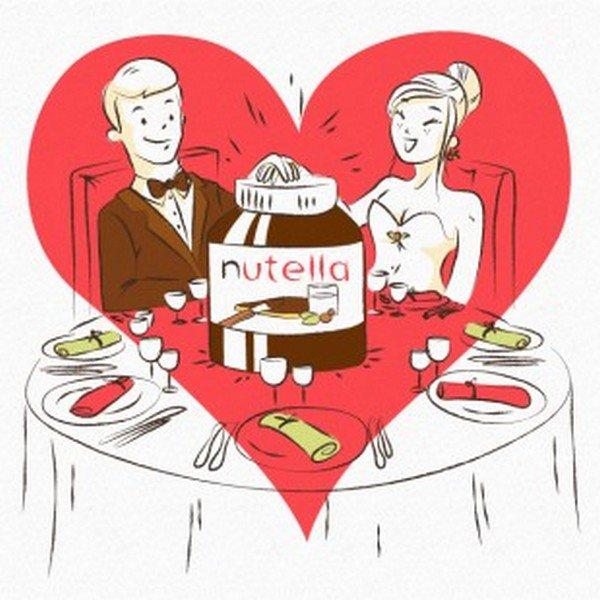 nutella couple