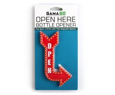 open sign bottle opener red pack