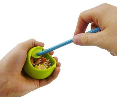 orb pencil sharpener green