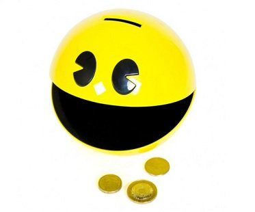 pac-man money box