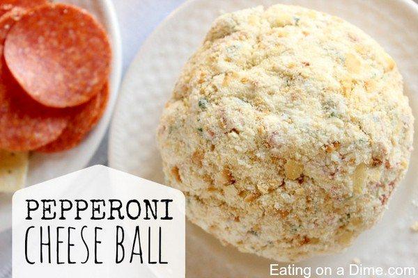 pepperoni cheeseball