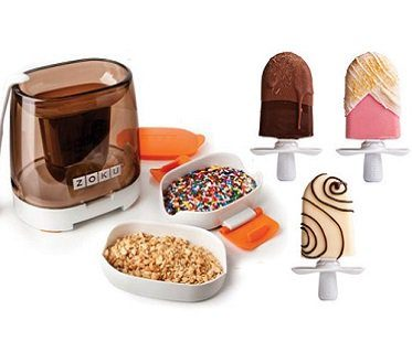 quick pop chocolate station sprinkles