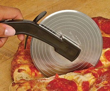record player pizza cutter
