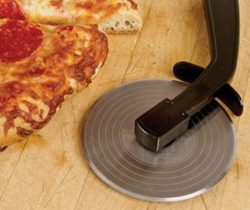 record player pizza cutter slicer