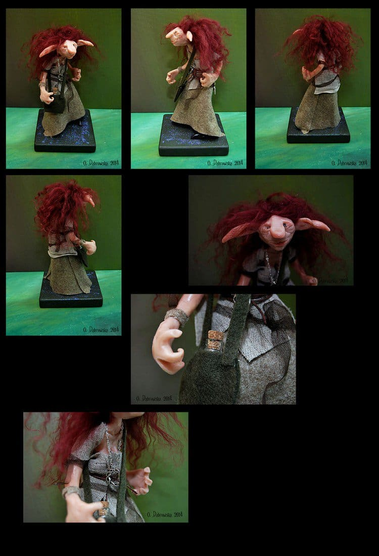 red haired troll