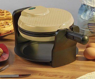rotary waffle maker flip
