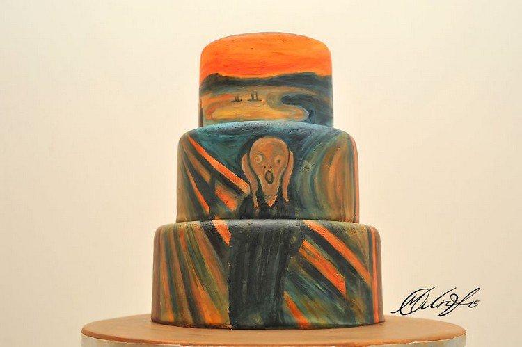 scream cake