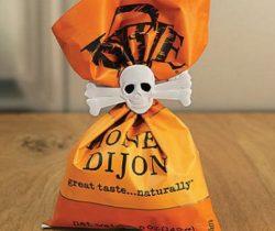 skull and crossbones bag clips