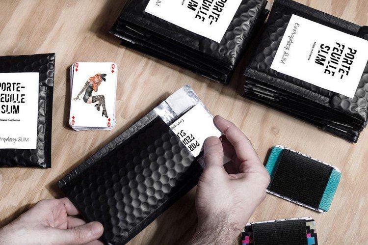 slim wallet cards