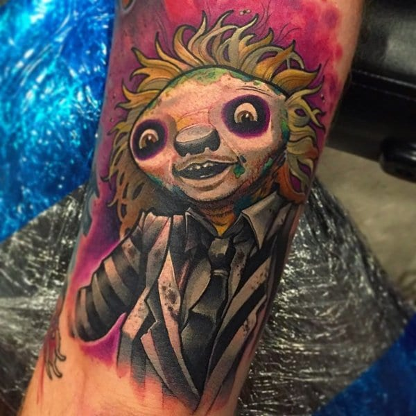 sloth-tattoos-beetlejuice