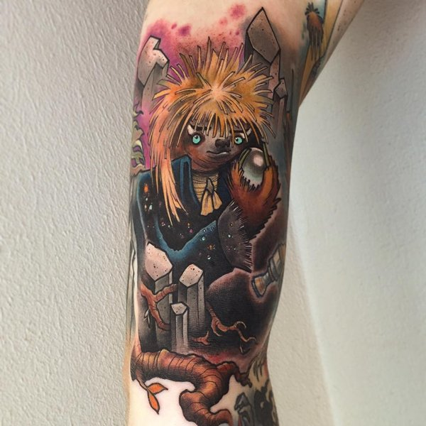 sloth-tattoos-jareth