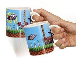 sonic the hedgehog motion mug