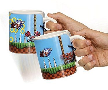 sonic the hedgehog motion mug
