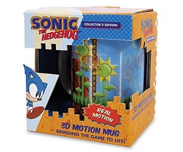 sonic the hedgehog motion mug box