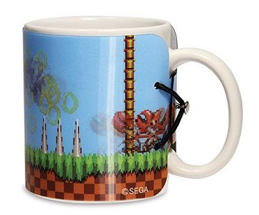 sonic the hedgehog motion mug drink