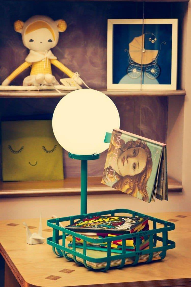 stork lamp shelves