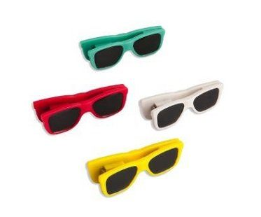 sunglasses chip bag clips colours