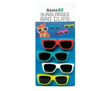 sunglasses chip bag clips pack