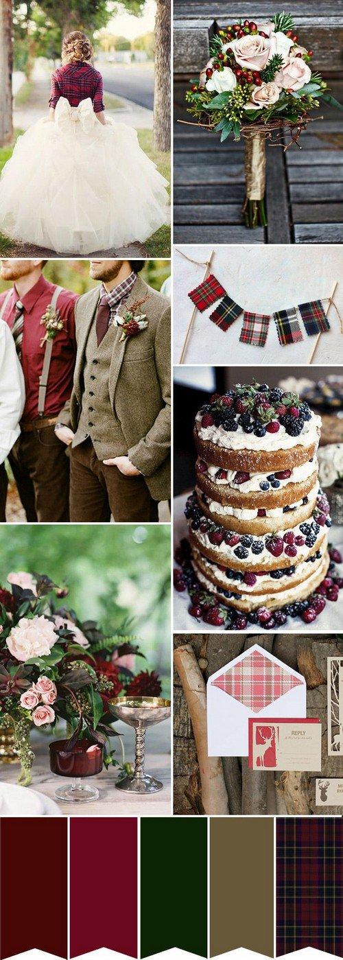 tartan weddings