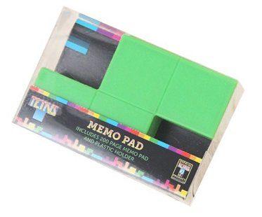 tetris memo pad pack