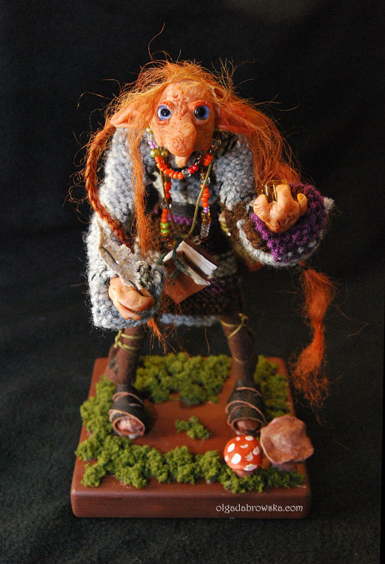Polish Artist Creates Magical Polymer Clay And Poseable