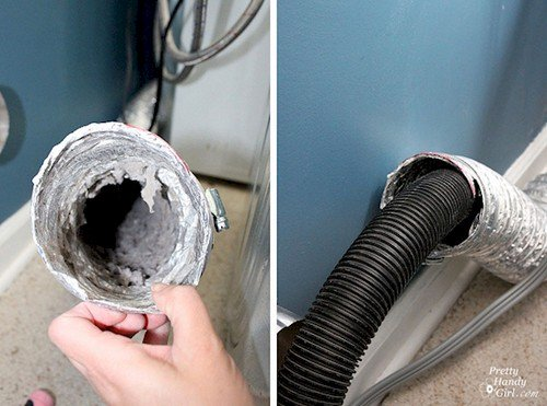 vacuum dryer duct