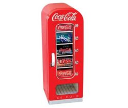 vending machine style fridge