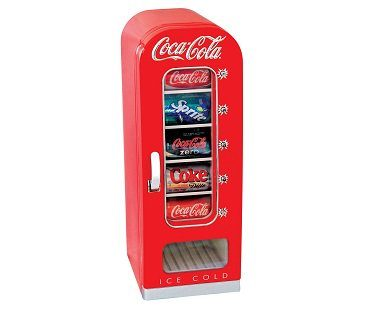 vending machine style fridge