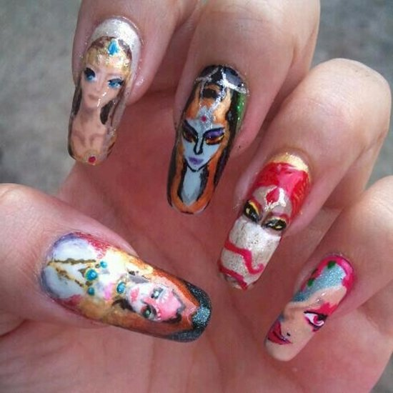 Nail Art Game: 17 Awesome Examples Of Video Game Inspired Nail Art