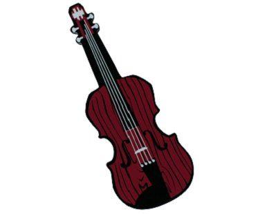 violin nail buffer brown