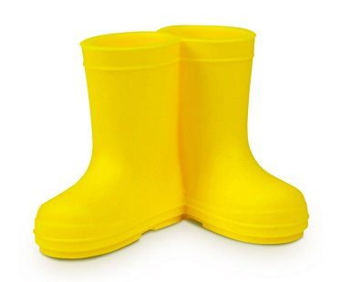 wellies toothbrush holder yellow