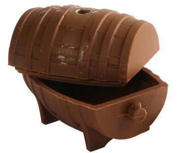 whisky barrel ice cube mold brown