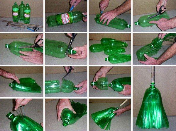 2l bottle broom