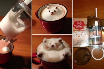 3D Latte Art Awataccino Machine