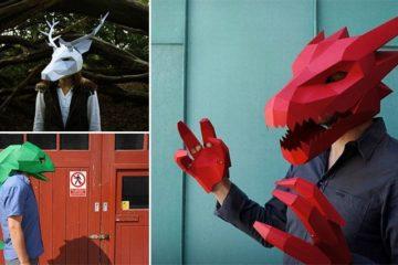 3D Masks Steve Wintercroft