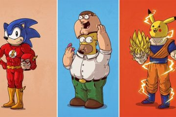 Alex Solis Pop Culture Illustrations