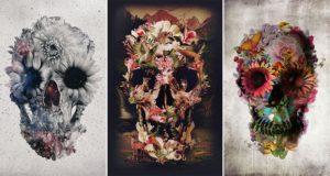Ali Gulec Skull Art