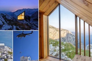 Anze Coki Alpine Shelter Slovenian Alps