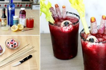 Beet And Bloody Mary Cocktail