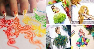 Christina Webb Objects Colorful Illustrations