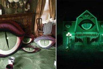 Christine McConnell Haunted House Decorations